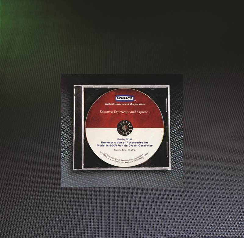 N-158 Electrostatic Demo DVD