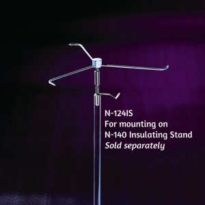 N-124 Electric Whirl mounted on N-140 insulating stand